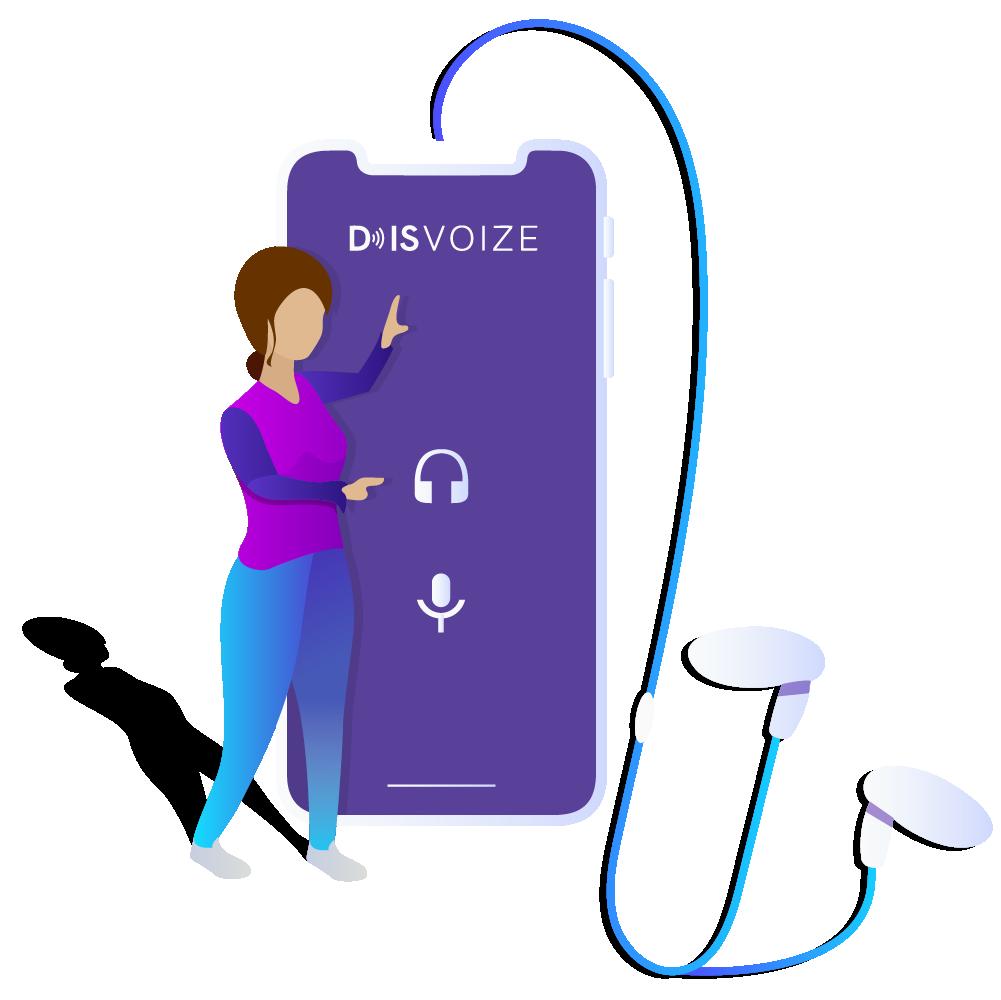 Disvoize app